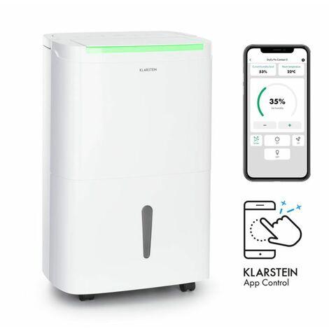 Klarstein DryFy Connect 50 Dehumidifier WiFi Compression 50l / d 45-55m² White