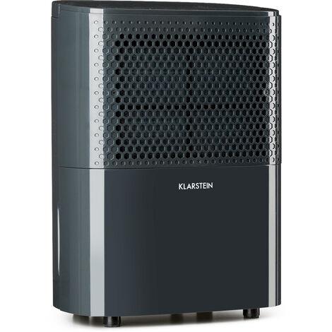 Klarstein DryFy10 Dehumidifier 240W 10l / d 100m³ / h 15-20m ² DrySelect 40dB Grey