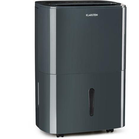Klarstein DryFy20 Déshumidificateur 420 W 20 l/j 230 m³/h 40-50 m² DrySelect 45 dB antharcite