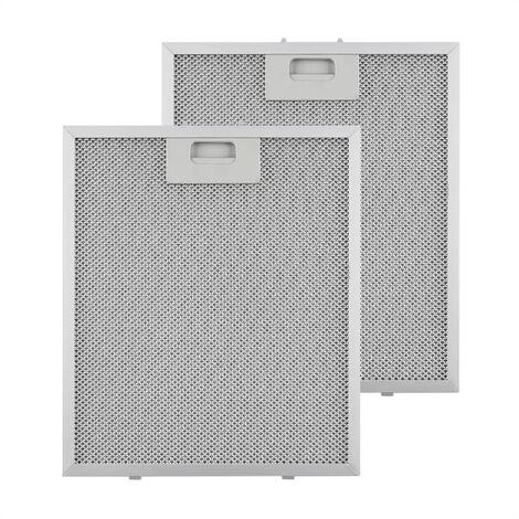 Klarstein Filtre à graisse en aluminium 27,1 x 31,8 cm Filtre de rechange