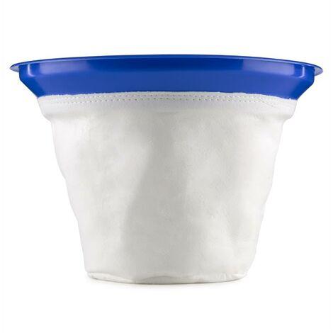 Klarstein filtro de saco para aspirador en seco y húmedo filtro de tela Ø35cm
