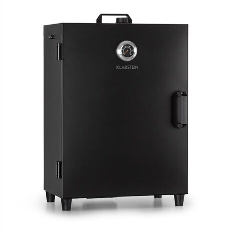 Klarstein Flintstone Fumoir électrique 1600W Thermométre Inox - Noir