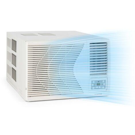 Klarstein Frostik Climatiseur de fenêtre 9000 BTU/2,7 kW CEE A R32 télécommande