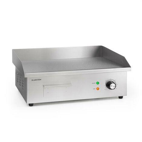 Klarstein Grillmeile 3000G Pro barbecue électrique 3000W plaque de cuisson 54,5