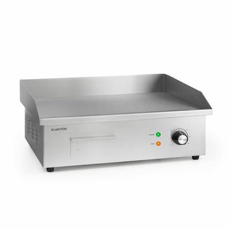 Klarstein Grillmeile 3000G Pro Electric Grill 3000W Grill Plate 54.5x35cm Smooth