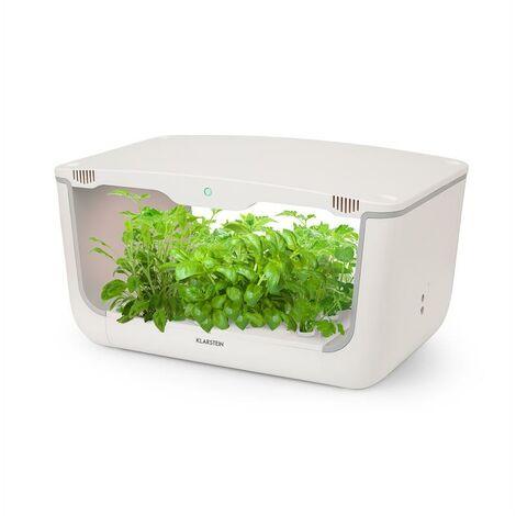 Klarstein GrowIt Farm Smart Jardin hydroponique 28 plantes 8 litres 48W 196x LED