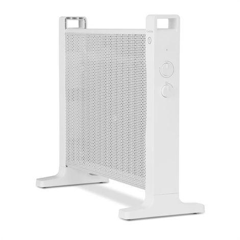 Klarstein HeatPalMica15 Calefacción eléctrica Calefactor Mica 2 niveles de calor 1500W blanco