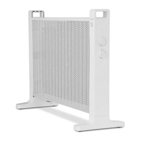 Klarstein HeatPalMica20 Chauffage électrique Mica 2 niveaux 1000W / 2000W -blanc