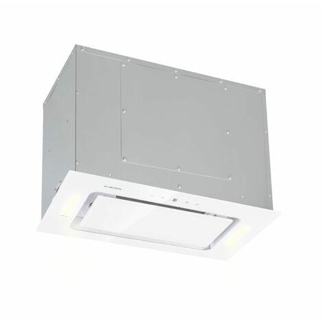 Klarstein Hektor Hotte encastrable 52cm Extraction 530 m³/h LED - blanche