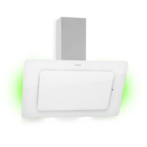 Klarstein Helena 90 Cooker Extractor Hood 595 m³ / h LED Display White