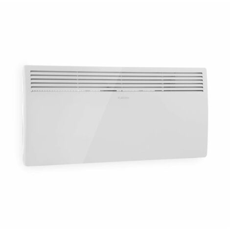 Klarstein Hot Spot Slimcurve Chauffage 80x40 cm 40 m² 2000 W 5-40 ° C IP24 blanc