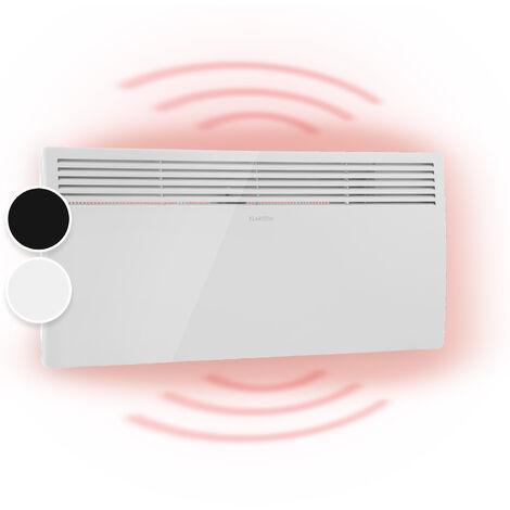 Klarstein Hot Spot Slimcurve Stufa 80x40cm 40m² 2000W 5-40°C LED IP24 bianco