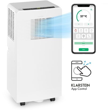 Klarstein Iceblock Ecosmart 7 Mobile Air Conditioner 7,000 BTU / 2.1 kW White