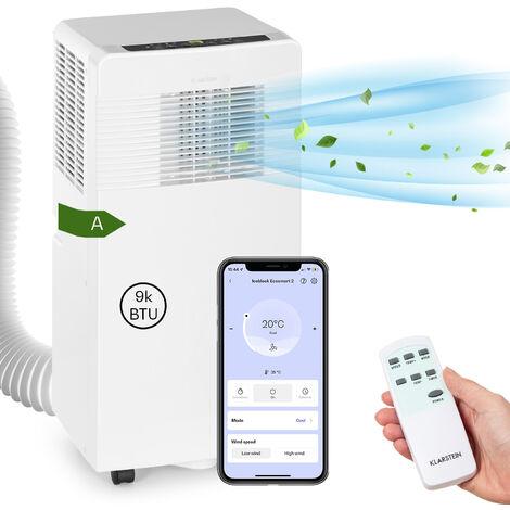 Klarstein Iceblock Ecosmart 9 Aire acondicionado portátil de 9000 BTU/2,6 kW Blanco