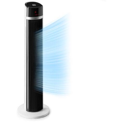 Klarstein IceTower ventilateur sur pied 36 watts minuterie 3 modes télécommande blanc