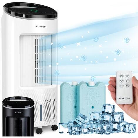 Klarstein IceWind Plus 4-en-1 rafraîchisseur d'air 65 W minuterie 330 m³/h télécommande blanc