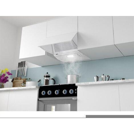 Klarstein Incognito Hotte aspirante 60cm 250 m³/h éclairage LED blanche