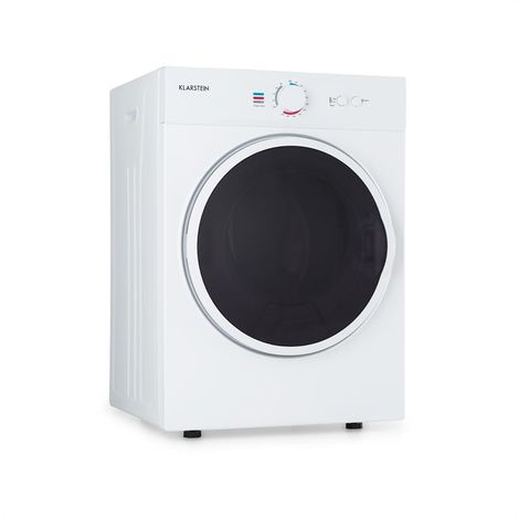 Klarstein Jet Set Tumble Dryer 1020W EEC C 3kg 50cm White