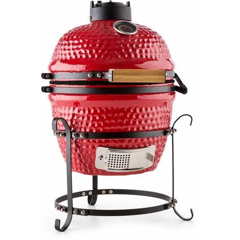 "Klarstein Kamado grill en céramique 11 "" BBQ - rouge"