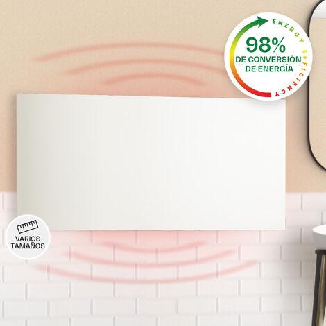 klarstein Klarstein Wonderwall Air Infinite Panel calefactor infrarrojo 120x60cm 720W Pared Mando a distancia Blanco