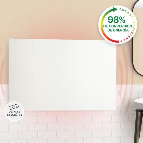 klarstein Klarstein Wonderwall Air Infinite Panel calefactor infrarrojo 90x60cm 580W Pared Mando a distancia Blanco