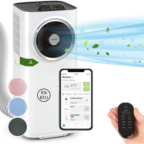 Klarstein Kraftwerk Smart 10K Aire acondicionado portátil de 10 000 BTU/2,9 kW Blanco