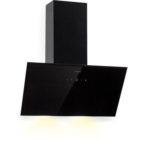 Klarstein Laurel 60 Campana extractora 60 cm Salida 350 m³/h LED Touch Negro
