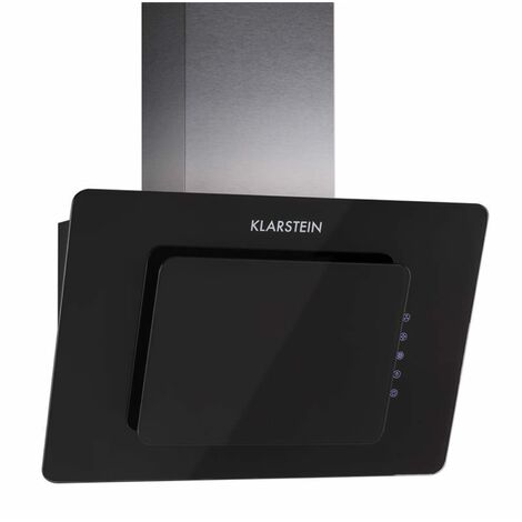 Klarstein Lorea Extractor Cooker Hood 60cm touch panel black safety glass
