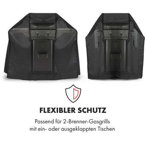 Klarstein Lucifer 2.0 Cover Wetterschutzhaube 600D Canvas 30/70% PE/PVC schwarz