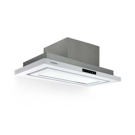 Klarstein Lumiera Dunstabzugshaube LED 70 cm EEK A 750 m3/h 3 Stufen weiß
