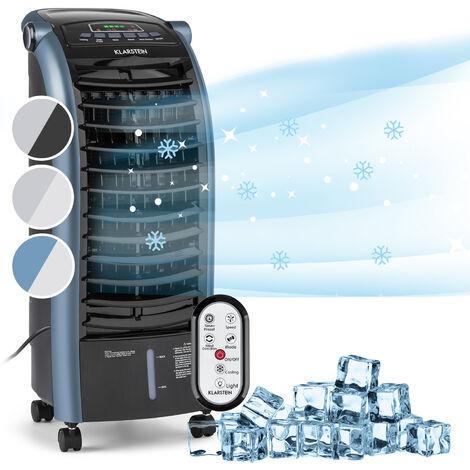 Klarstein Maxfresh Ocean Luftkühler Ventilator 6L 55W Fernbedienung Eispack blau