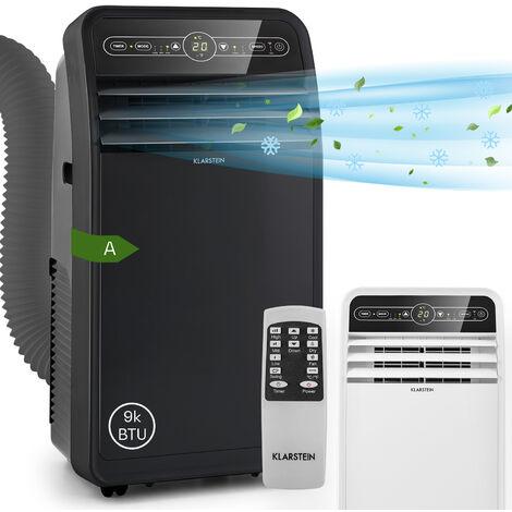 Klarstein Metrobreeze 9 New York City climatiseur mobile 9000 BTU/2,6 kW noir