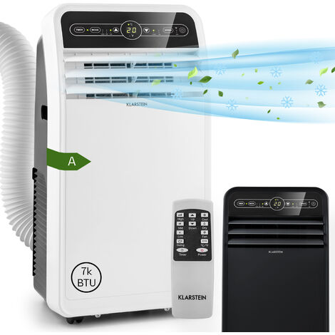 Klarstein Metrobreeze New York 7k climatiseur mobile 2,05kW 7000BTU A blanc