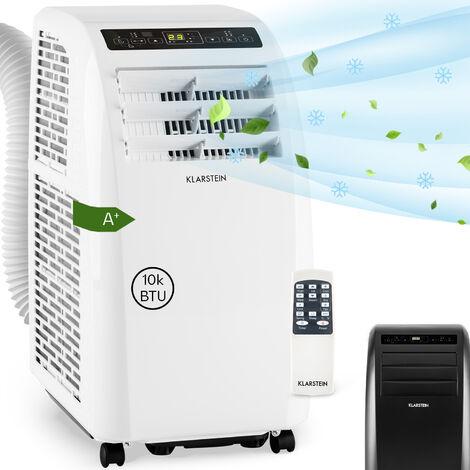 Klarstein Metrobreeze Rom Aire acondicionado portátil de 10 000 BTU/3,0 kW EEC A+ Blanco