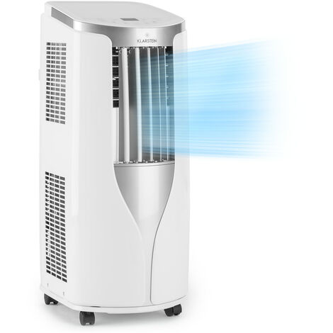 Mobile Klimaanlage 9000 BTU 2600 W Klimagerät Timer+Luftentfeuchter Ventilator