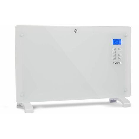 Klarstein Norderney Konvektions-Heizgerät Thermostat Timer 2000W 30m² weiß