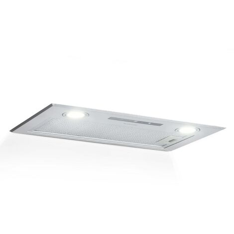 Klarstein Paolo Cooker Extractor Hood Built-in 52cm Exhaust Air 600 m³ / h LED Touch Stainless Steel