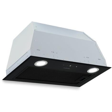 Klarstein Paolo Hotte aspirante 52,5 cm 600 m³/h LED - Classe A - Noir