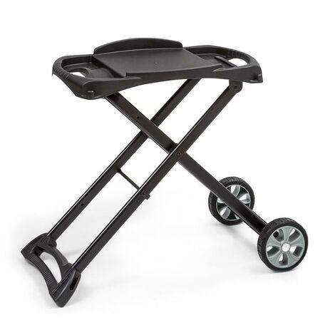 Klarstein Parforce Stand Zubehör PE-Räder zusammenklappbar schwarz