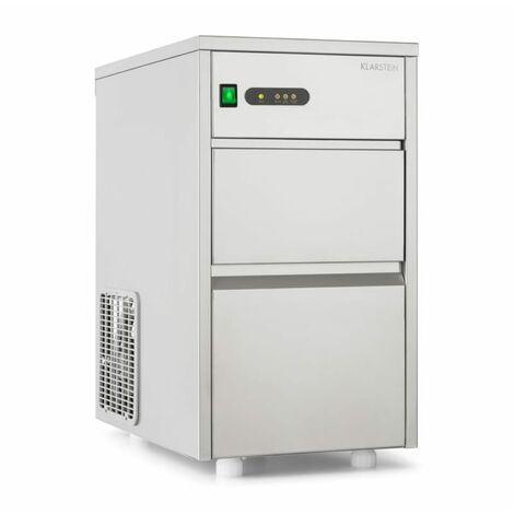 Klarstein Powericer-XL fabricador hielo industrial máquina de cubitos 20kg/24 h