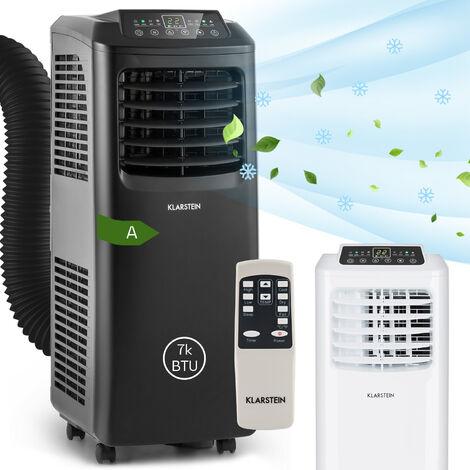 Klarstein Pure Blizzard 3 2G Aire acondicionado portátil de 7000 BTU/2,1 kW Negro