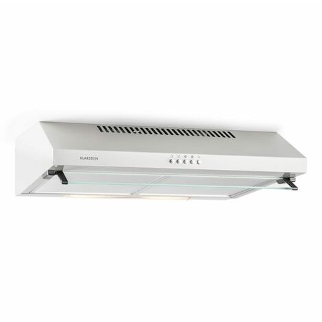 Klarstein Purista Substructure Extractor Hood Metal Glass 60 cm 190 m³/h Wall Mounting