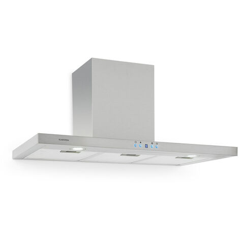 Klarstein RC90WS Extractor Fan Cooker Hood 90cm Stainless Steel