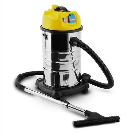 Klarstein Reinraum Prima Aspirateur industriel sec & humide 1800W 30L -jaune