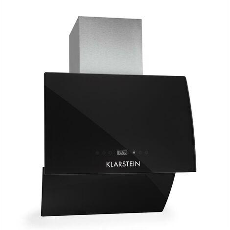 Klarstein RGL60BL campana extractora campana de pared plegable 60 cm negro