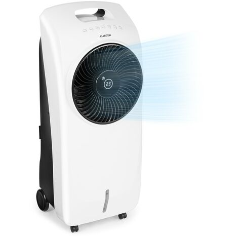 Klarstein Rotator rafraîchisseur d'air 4 en 1 110 W 396 m³/h 3 vitesses télécommande blanc
