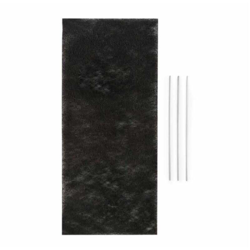 Royal Flush 60 Filtre à charbon actif pour hotte 37,5 x 0,5 x 16,7cm - Klarstein