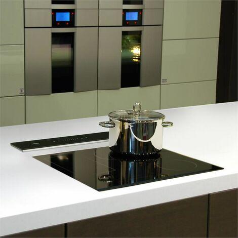 klarstein Royal Flush Hotte aspiranteà courant descendant 430 m³/h60 cm