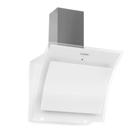 Klarstein Sabia 60 campana extractora 600m³/h LEDs 3 niveles de potencia blanco