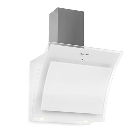 Klarstein Sabia 60 Cooker Extractor Hood 60cm 600m³/h LEDs 3 Power Levels White